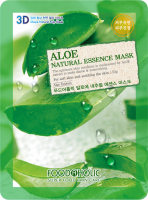 Тканевая 3D маска с экстрактом алоэ Aloe Natural Essence Mask