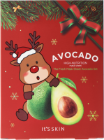 It's Skin The Fresh Mask Sheet Avocado 5EA (GLOBAL NEW YEAR), 5 шт, It's Skin
