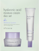 Hylauronic Acid Moisture Cream Duo Set набор кремов для лица, 50 мл + 25 мл, It's Skin