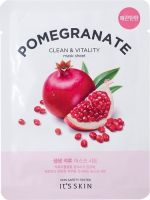 Укрепляющая тканевая маска с гранатом The Fresh Pomegranate Mask Sheet