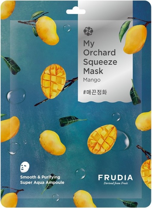 Тканевая маска для лица с манго My Orchard Squeeze Mask Mango